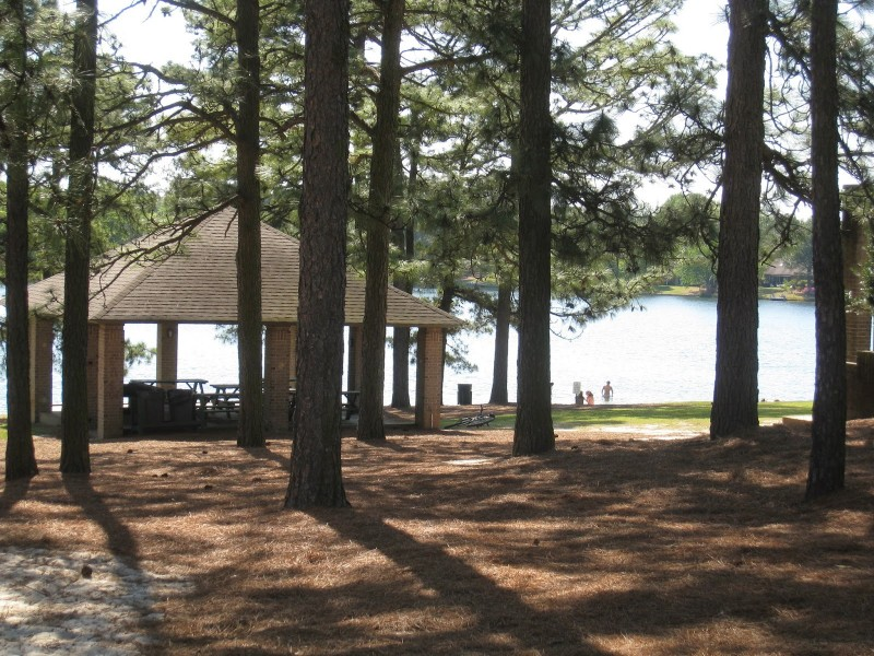 lake longleaf beach and cabana